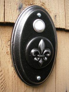 Fleur Di Lis Doorbell