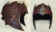 Elf / Ranger helmet by Dragonwhisperin on DeviantArt
