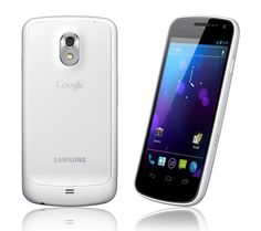 And it's a white Galaxy Nexus too