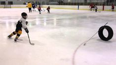 Pivot Stickhandling Drill (+playlist) Youth Hockey, Hockey Mom, Hockey Teams, Hockey Players, Ice Hockey, Soccer, Hockey Workouts, Hockey Drills, Hockey Training