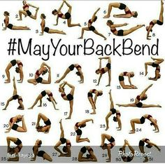 May your back bend