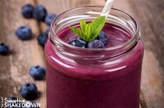 Blueberry Ginger Smoothie- Official Fat Flush Recipe