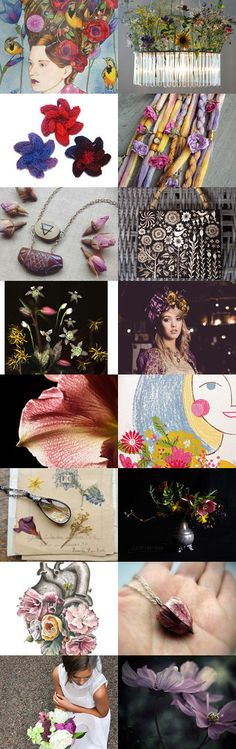 Miss Flora by 3buu on Etsy--Pinned+with+TreasuryPin.com