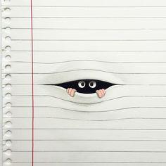 Friday ... Let's see....!! # # #drawing #eyes #javicalleja #javiercalleja by javicalleja