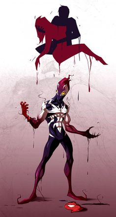 Spiderman - Ultimate Symbiote [FINAL] by TheRedVampx1 on deviantART