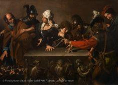 Valentin de Boulogne, Le reniement de saint Pierre, vers 1615-1617 | Musée du Louvre | Paris