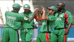Kenya cricket team arrives in Pakistan |