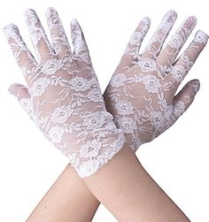 Simplicity Stretch Bridal Gloves Lace Wrist Length Special Occasion Wear, White - http://todays-shopping.xyz/2016/08/16/simplicity-stretch-bridal-gloves-lace-wrist-length-special-occasion-wear-white/