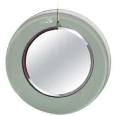 Fontana Arte Curved Glass Mirror
