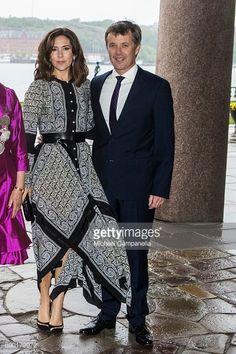 News Photo : Prince Frederik of Denmark and Princess Mary of...