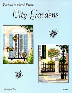City Gardens Collection 2 - Cross Stitch Pattern