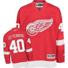 NHL Reebok Detroit Red Wings Henrik Zetterberg Premier Jersey - $149.95 - http://shop.sportsfanplayground.com/4738-374377011-B001XW9UOG-Reebok_Detroit_Red_Wings_Henrik_Zetterberg_Premier_Home_Jersey.html