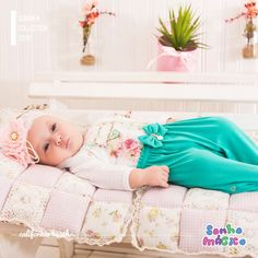 Moda Bebê | Moda Baby | Macacão | Look Para  Princesa