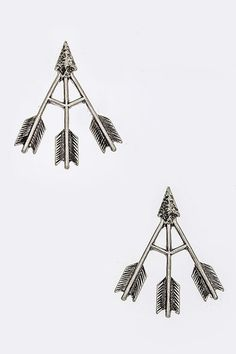 Arrow Studded Earring from Gypsy Outfitters