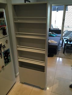 one of the best #storage solutions I've seen in years! #kitchen #organization