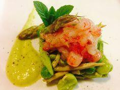 Vignarola cruda di gamberi | Food Loft - Il sito web ufficiale di Simone Rugiati