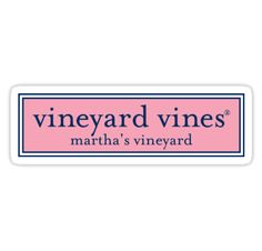 """Vineyard Vines Sign"" Stickers by EACedar311 