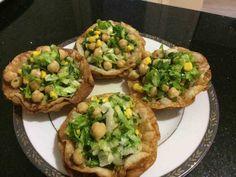 Yufka Çanağında Nohut Salatası