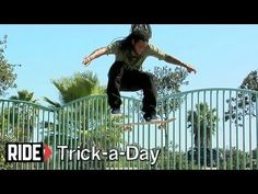 Learn a new trick each and every day from top pros. You'll get step-by-step instructions on how to master every trick in skateboarding! Tune in seven days a week to learn something new.    Today Shuriken Shannon shows you how to do a Frontside Shuv-It
