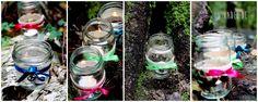 Ni*na*del: Wiesn Zeit, schöne Zeit...Kleine DIY Ideen zum Oktoberfest: Teelichthalter für die Mottoparty