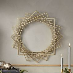 Find woven wall hangings, sconces, wreaths and more modern wall decor to spruce up your space. Modern Wall Decor, Metal Wall Decor, Diy Wall Art, Diy Wall Decor, Metal Wall Art, Diy Bedroom Decor, Diy Home Decor, Modern Door, Deco Boheme Chic