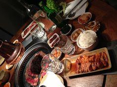 Wow, such great Korean food at Yokiyo #Amsterdam! Best organic bulgogi and duck in town! #foodporn #kimchi