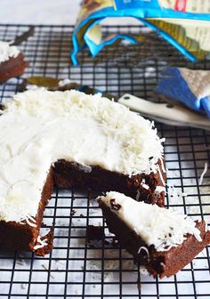 Chocolate Beet Cake with a coconut butter cream frosting! Dairy free and egg free (including the frosting!) and soooo decadent! A fudgy, chocolate-y cake you will love!