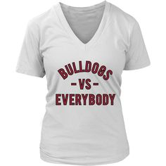 BULLDOGS VS Everbody (Alabama A&M inspired - maroon)