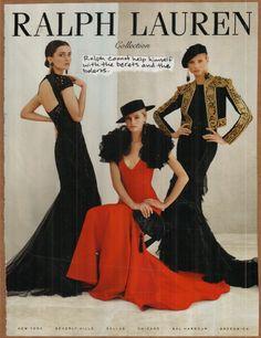ralph lauren spanish collection, vogue spread.