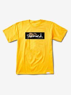 c0a901921f5 Image result for diamond supply co yellow logo Box Logo Tee