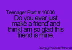 @Israa Al  @Sam Sentovich  @Morgan Levengood @Caroline Grace Smith ! yes every time I talk with any of these girls:)