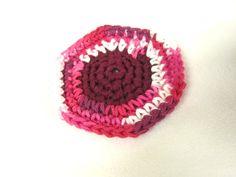 Kitchen Scrubbie  Cotton and Nylon Tulle by crochetedbycharlene