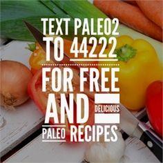 "Text ""paleo2"" to 44222 to receive 12 delicious paleo recipes you can make right from home !! #cavemandiet #paleodiet #paleolifestyle #paleofood #paleolife #paleoeats #paleofriendly #paleoliving #paleoish #paleobreakfast #paleorecipes #paleoapproved #paleogirl #paleochallenge #paleodinner #paleobrasil #paleolove #paleohunt #healthychoices #paleokids #paleotreats #paleomom #paleorecipe #paleostyle #paleoeating #paleolunch #paleoporn #paleodessert #paleocooking  healthy by paleogoods"