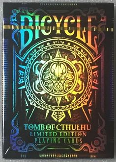 Bicycle Tomb of Cthulhu Playing Card Deck~Limited Edition~Ships Free