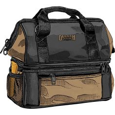 Louie's Lunch Box has enough room to hold breakfast, lunch and dinner! Pack it up and eat like a king. Only at Duluth Trading Company.
