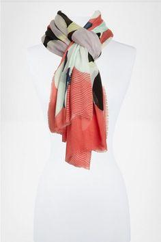 DVF Spring scarves.