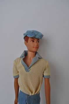 I had one of these! I inherited it from one of my sisters. Barbie liked Alan so much more than my Superstar Ken. He wore the jumpsuit better, too.