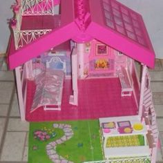 The Barbie fold and fun house. I had one of these as a kid. Loved it!
