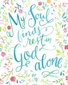 My God gives me peace