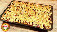 Zwetschgen-Blechkuchen mit Streusel - Rezept von Nobbi´s Kochstunde Banana Bread, Desserts, Food, Youtube, Sprinkles Recipe, Cooking, Tailgate Desserts, Deserts, Eten