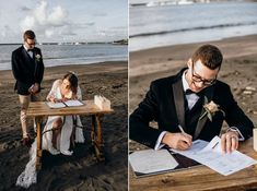 The autumnal toned florals were perfect in the late afternoon light & Lesa & Josh's beachside ceremony was idyllic. Lola Hair, Grace Love, All Pictures, Plymouth, Wedding Season, Groomsmen, Victoria, The Incredibles, Weddings