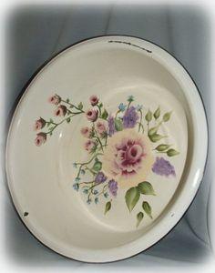 Other: Old Enamel Dish Pan
