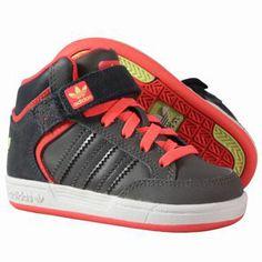 Nouvelle collection printemps-été 2014  Baskets Adidas Enfant - Varial Mid I Shoes DarkCin/Pop/Glow