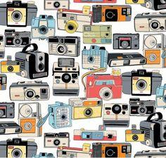 Tela FQ :: polaroid :: de nosgustanlosretros por DaWanda.com