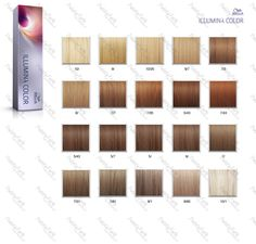 wella illumina paleta kolorow - Illumina Color Wella Nuancier
