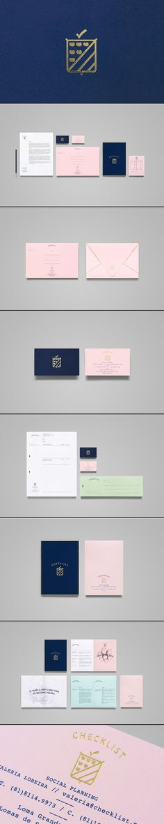 Checklist on Behance