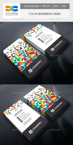 Color Business Card Template PSD. Download here: http://graphicriver.net/item/color-business-card/15362257?ref=ksioks