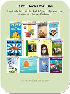 29 Free eBooks on my list for kids today! Some great picture books.