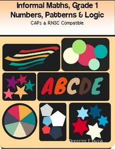 Numbers, Patterns and Logic, Informal Math, Grade 1 #SouthAfrica CAPs and RNSC Aligned workbook/Worksheets with assessment and learning outcomes