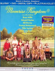 Moonrise Kingdom Blu-Ray Review & Podcast.